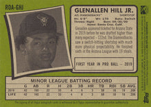 Load image into Gallery viewer, Glenallen Hill Jr. AUTO 2020 Topps Heritage Minor League ~ AZL Diamondbacks