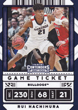 Load image into Gallery viewer, 2020-21 Panini Contenders Draft Basketball GAME TICKET PURPLE Parallels ~ Pick your card