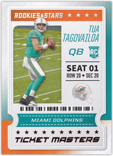 Load image into Gallery viewer, 2020 Panini Rookies & Stars NFL TICKET MASTERS Inserts ~ Pick Your Cards