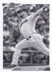 2020 Bowman Heritage Baseball BLACK & WHITE Parallels ~ Pick your card