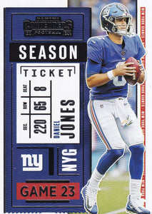 2020 Panini Contenders NFL Football Cards #1-100 ~ Pick Your Cards
