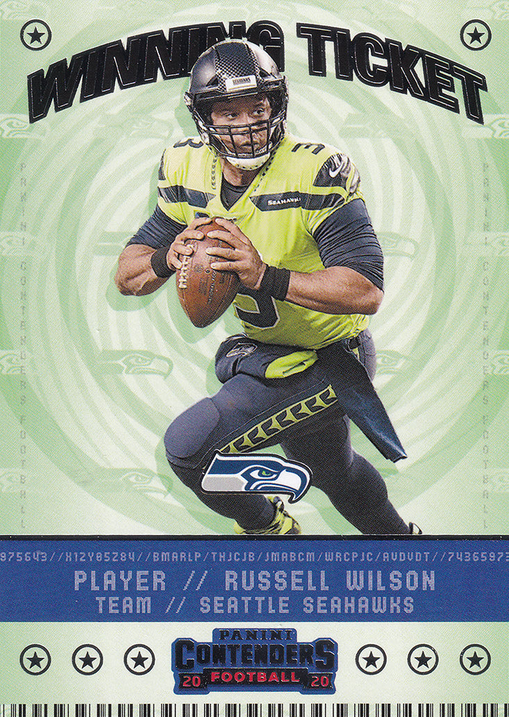 2020 Panini Contenders NFL Football WINNING TICKET Inserts ~ Pick Your Cards