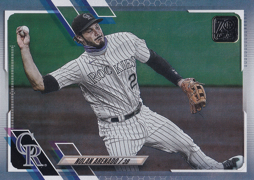 2021 Topps Series 1 Baseball RAINBOW FOIL Parallels ~ Pick your card