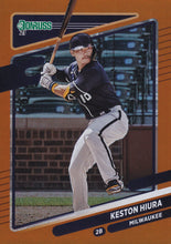 Load image into Gallery viewer, 2021 Donruss Baseball HOLO ORANGE Parallel Cards ~ Pick your card