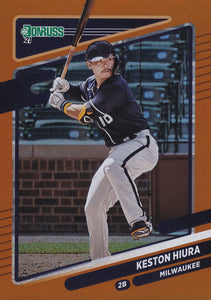 2021 Donruss Baseball HOLO ORANGE Parallel Cards ~ Pick your card