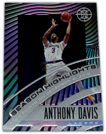 ANTHONY DAVIS 2019-20 Panini Illusions Season Highlights SAPPHIRE 199/199 #23