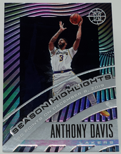 Load image into Gallery viewer, ANTHONY DAVIS 2019-20 Panini Illusions Season Highlights SAPPHIRE 199/199 #23