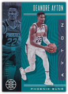 DEANDRE AYTON 2019-20 Panini Illusions TEAL Parallel 108/125 #48 ~ Suns