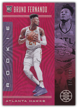 Load image into Gallery viewer, BRUNO FERNANDO 2019-20 Panini Illusions RUBY Parallel RC 174/199 #162 ~ Hawks
