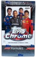 2020 Topps Formula 1 Chrome Hobby Box
