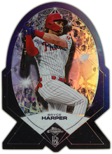 Load image into Gallery viewer, BRYCE HARPER 2020 Topps Chrome Ben Baller DIAMOND DIE-CUT SP ~ Phillies