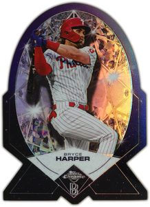 BRYCE HARPER 2020 Topps Chrome Ben Baller DIAMOND DIE-CUT SP ~ Phillies