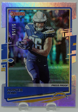 Load image into Gallery viewer, HUNTER HENRY 2020 Donruss NFL SILVER PRESS PROOFS Die Cut 5/75