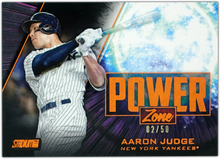 Load image into Gallery viewer, AARON JUDGE 2020 Topps Stadium Club ORANGE POWER ZONE #2/50 ~ Yankees