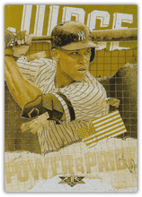 Load image into Gallery viewer, 2020 Topps Fire Baseball POWER and PRIDE GOLD MINTED INSERTS ~ Pick your card