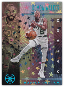 KEMBA WALKER 2019-20 Panini Illusions STARLIGHT Parallel #111 ~ Celtics