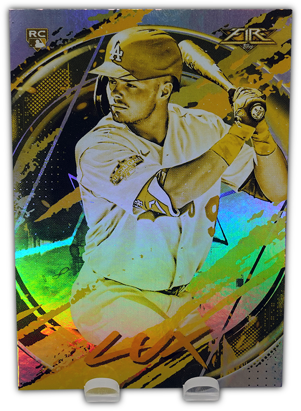 GAVIN LUX 2020 Topps Fire Baseball GOLD MINTED RC Parallel