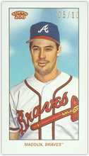 Load image into Gallery viewer, GREG MADDUX 2020 Topps T206 Series 5 BLANK BACK Parallel 5/10