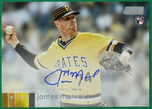 Load image into Gallery viewer, JAMES MARVEL 2020 Topps Stadium Club Baseball AUTO RC ~ Pirates