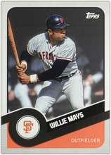 Load image into Gallery viewer, WILLIE MAYS 2020 Topps 582 Montgomery Brooklyn Collection ~ Pick Your Card