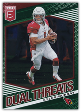 Load image into Gallery viewer, 2020 Donruss Elite NFL Football DUAL THREATS GREEN INSERTS ~ Pick Your Cards