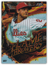 Load image into Gallery viewer, 2020 Topps Fire Baseball FLAME THROWERS INSERTS ~ Pick your card