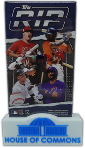 2020 Topps RIP Hobby Box Factory Sealed ~ 4 Rip Cards