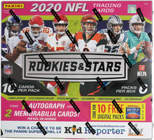 Load image into Gallery viewer, 2020 Panini ROOKIES & STARS Mega Longevity Box ~ 60 Cards 1 Auto 2 Relics