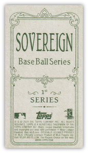 2020 Topps T206 Series 4 SOVEREIGN Parallels