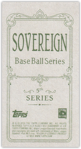 2020 Topps T206 Series 5 SOVEREIGN Parallels