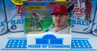 MIKE TROUT 2021 Topps Series 1 - 70 Years of Topps CHROME ~ Rare