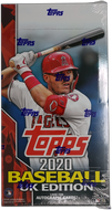 2020 Topps Baseball UK Edition HOBBY BOX Factory Sealed ~ Very Limited