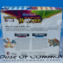 Load image into Gallery viewer, Pokemon TCG Vivid Voltage Charizard & Drednaw Theme Deck Sealed Case ~ 8 Boxes