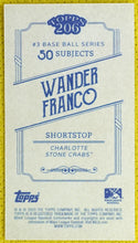 Load image into Gallery viewer, WANDER FRANCO 2020 Topps T206 Series 3 SSP Team Name Variation Charlotte