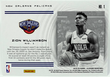 Load image into Gallery viewer, ZION WILLIAMSON 2019-20 Panini Illusions INSTANT IMPACT Insert #1