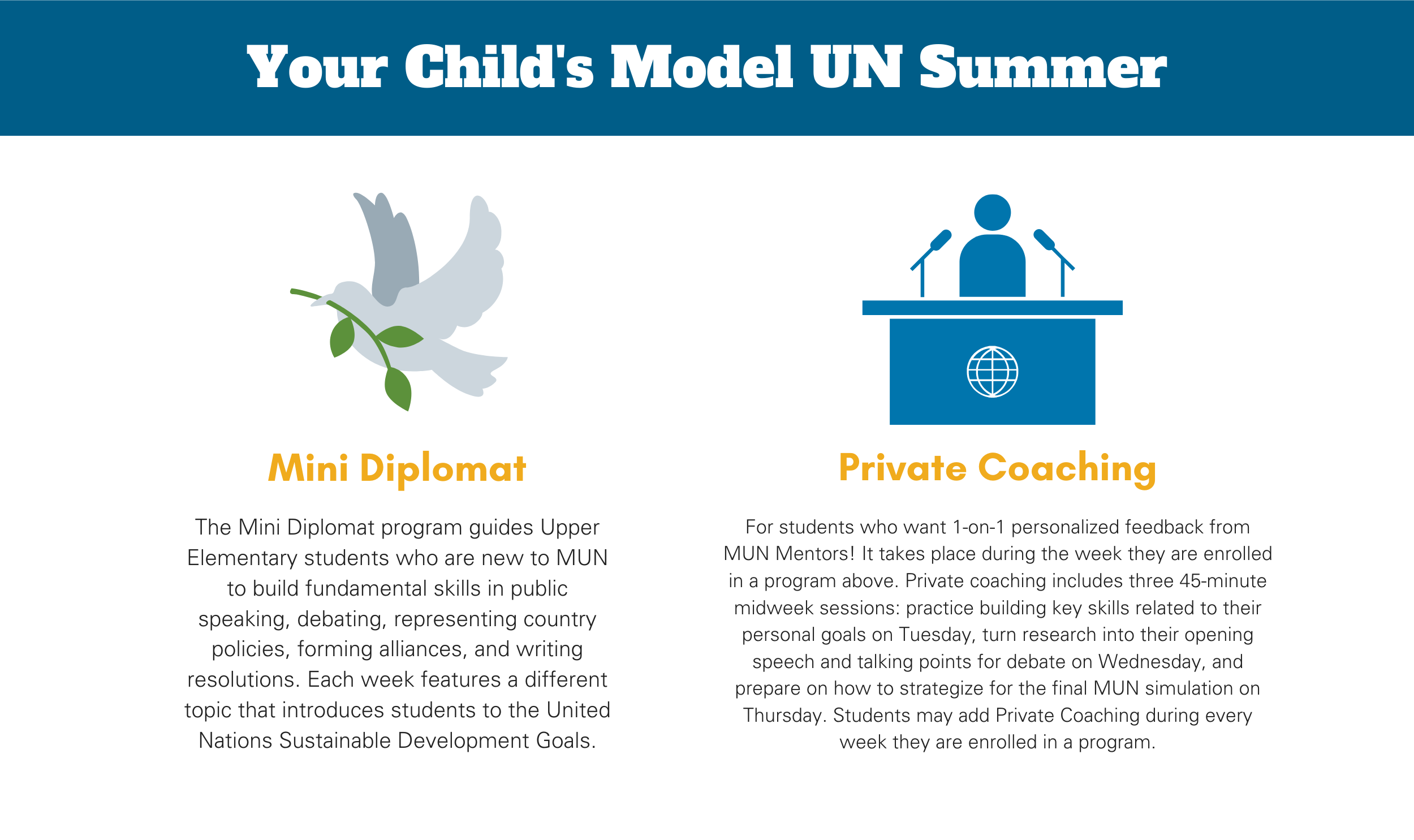 Best Delegate Model United Nations Elementary School Programs