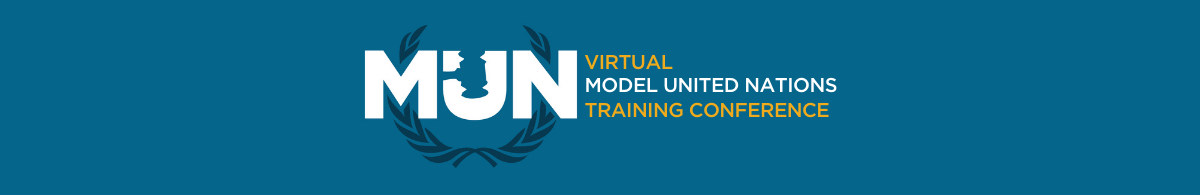 VIRTUAL MUN TRAINING CONFERENCE