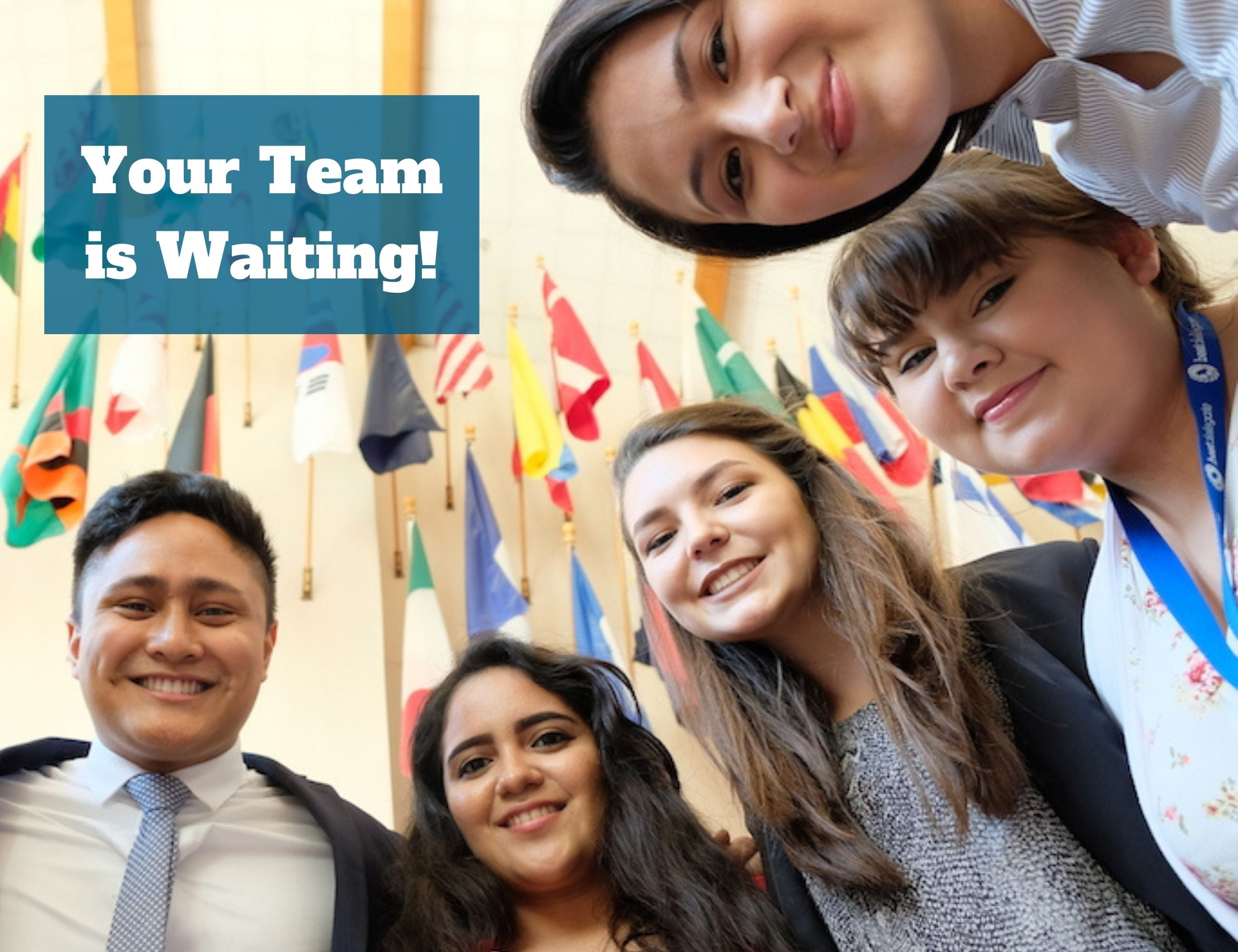 Join Model United Nations Teams