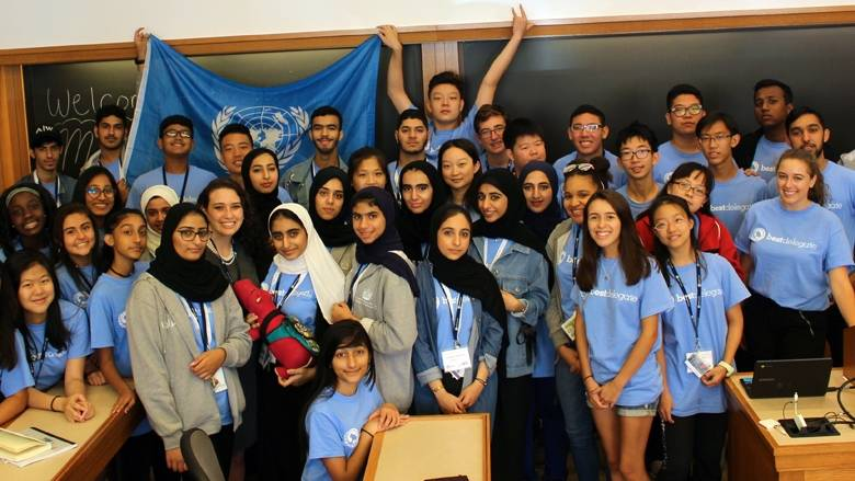 Best Delegate Model United Nations UAE Education Partnership