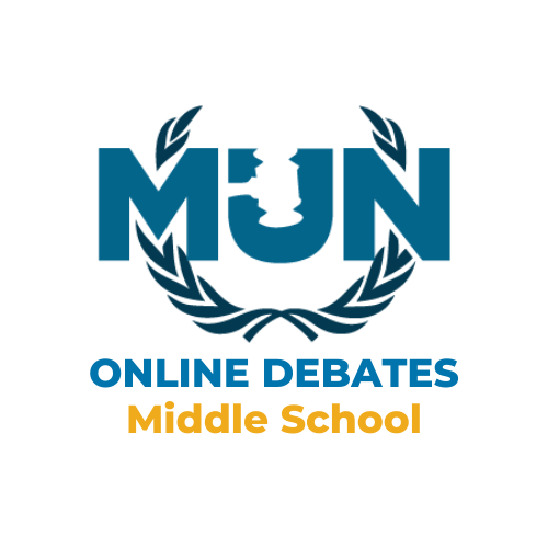 Middle School MUN Online Debates - Spring 2020 - Learn Model United Nations by Best Delegate