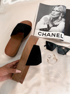 """Brunch Bound"" Chunky platforms"