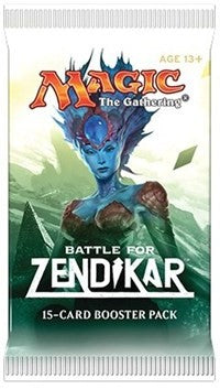 Mtg Battle For Zendikar Booster
