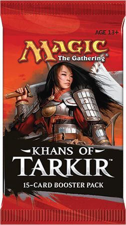 Mtg Khans Of Tarkir Booster