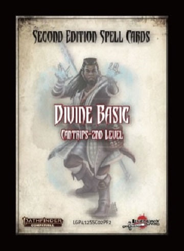 Pf2 Spell Cards Divine Basic | GameKnight Games