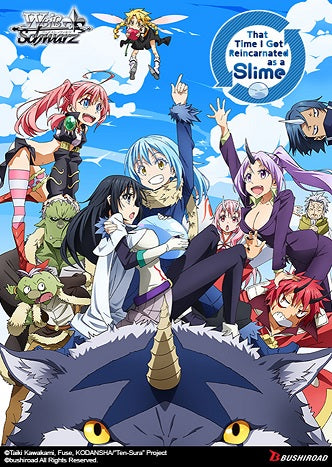 Weiss Schwarz That Time I Got Reincarnated As A Slime Booster | GameKnight Games