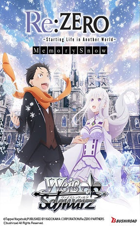 Weiss Schwarz Re:zero Memory Snow Booster | GameKnight Games