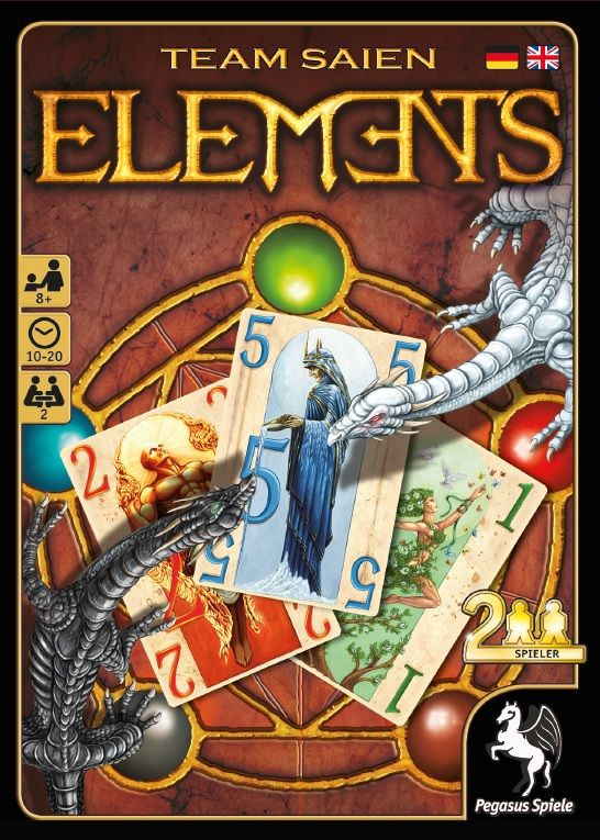 2pg Elements | GameKnight Games
