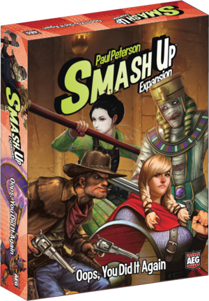 Cg Smash Up: Oops You Did It Again | GameKnight Games