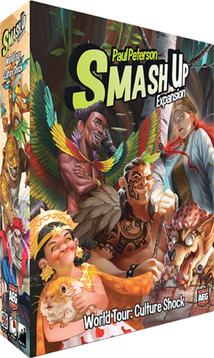 Cg Smash Up: World Tour Culture Shock | GameKnight Games