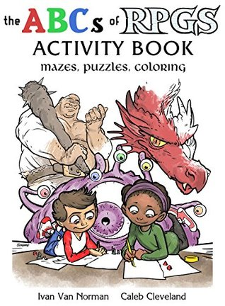 Book Abc's Of Rpgs - Activity Book | GameKnight Games